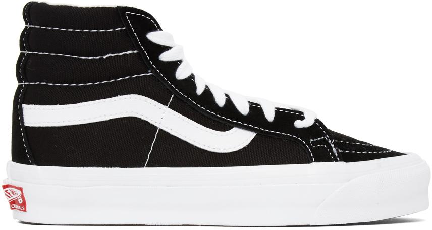 Vans 黑色 OG Sk8 Hi LX 高帮运动鞋