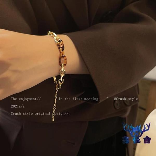 手鏈女小眾設計時尚簡約百搭復古手飾品【古怪舍】
