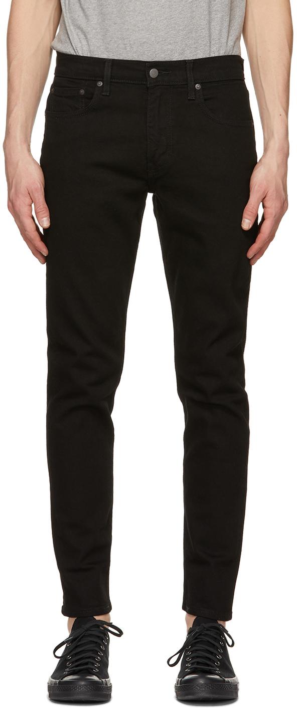 Levi's 黑色 512 Slim Taper Flex 牛仔裤