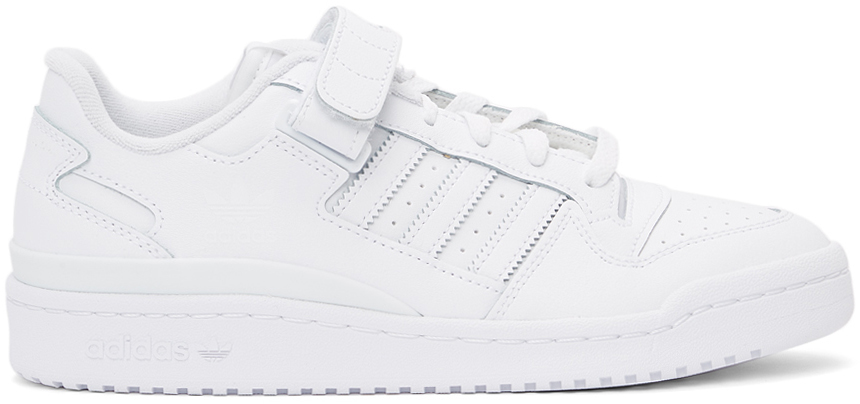 adidas Originals 白色 Forum 运动鞋