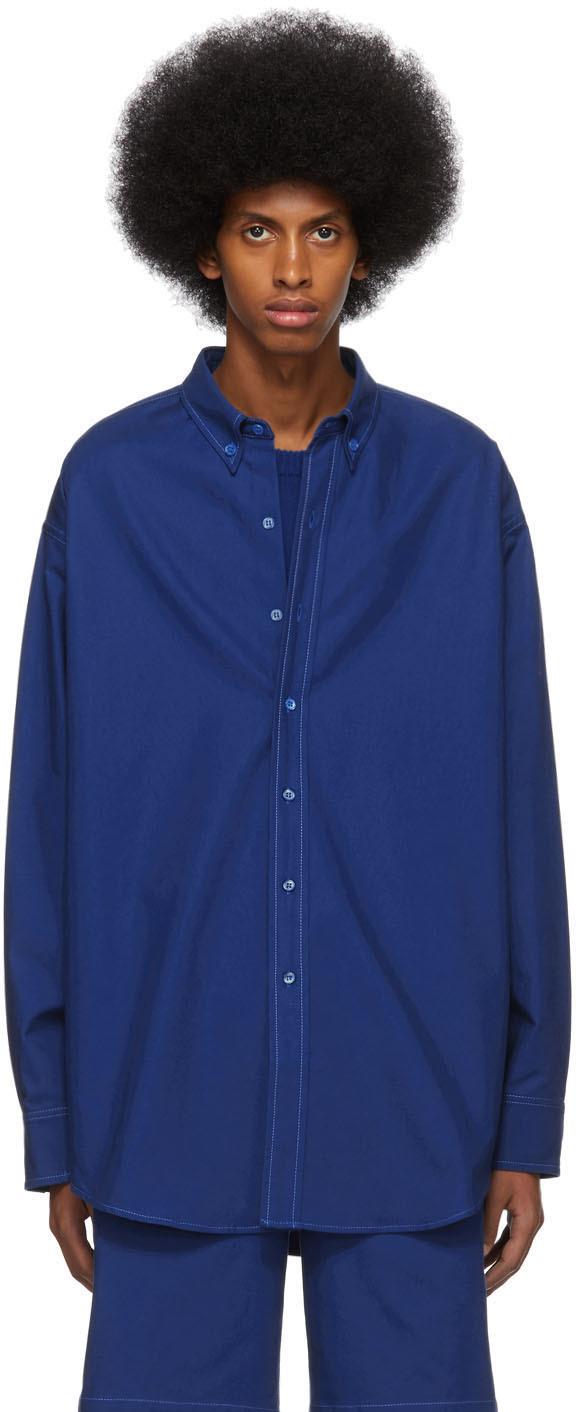 Sies Marjan 蓝色 Anderson 衬衫