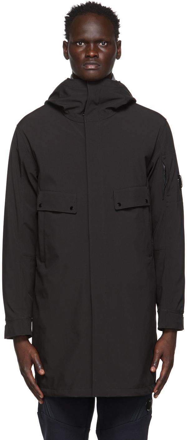 C.P. Company 黑色 C.P. Shell-R Medium 派克大衣