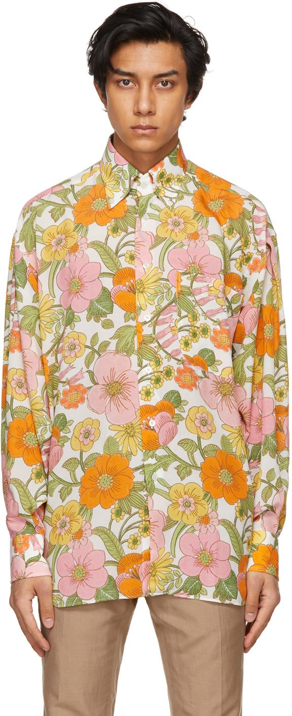 TOM FORD 多色花卉衬衫
