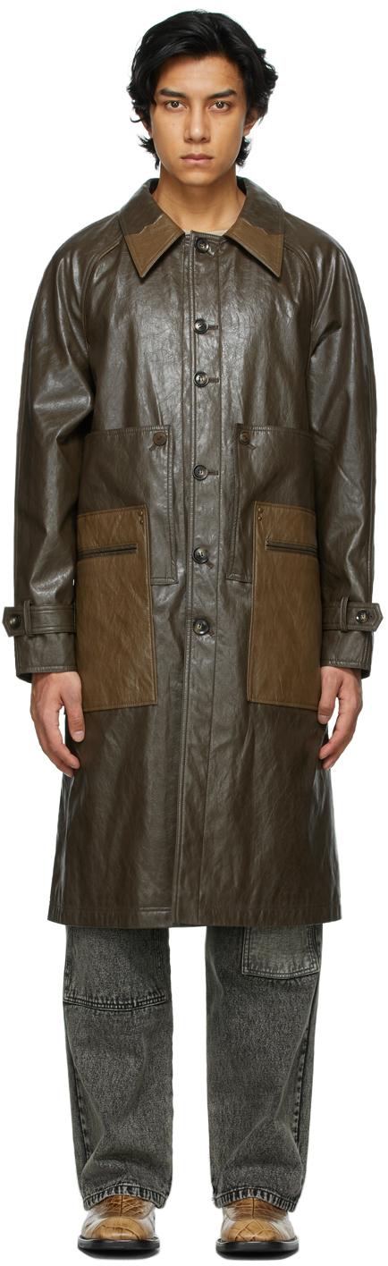 Andersson Bell 棕色 Car 大衣