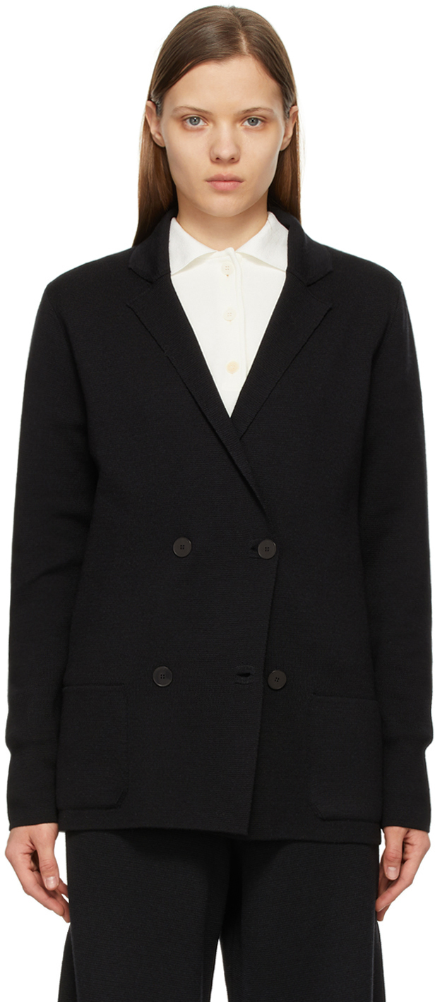 The Row 黑色 Chopok 双排扣西装外套