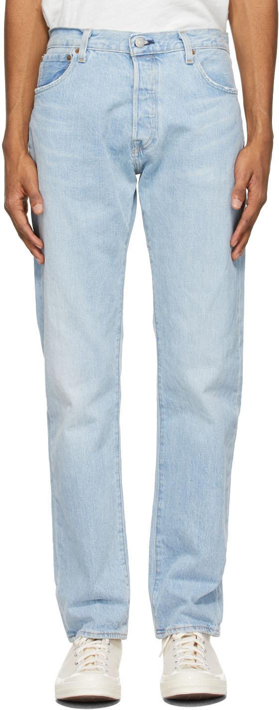 Levi's 蓝色 501 '93 Straight 牛仔裤