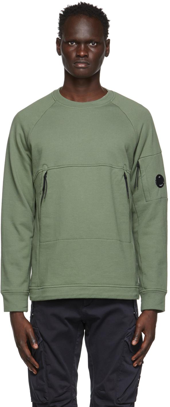 C.P. Company 绿色 Utility 套头衫