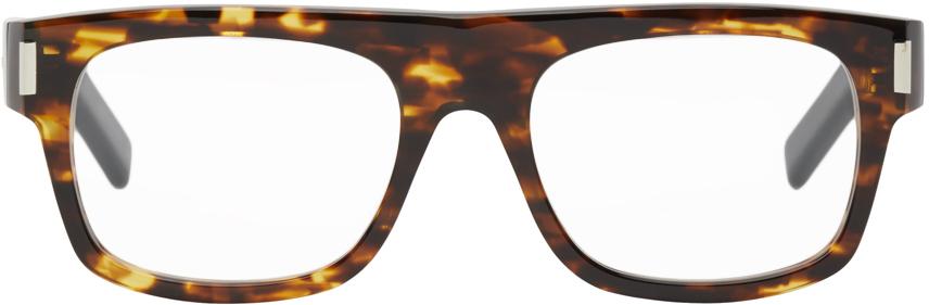 Saint Laurent 玳瑁色 SL 293 眼镜
