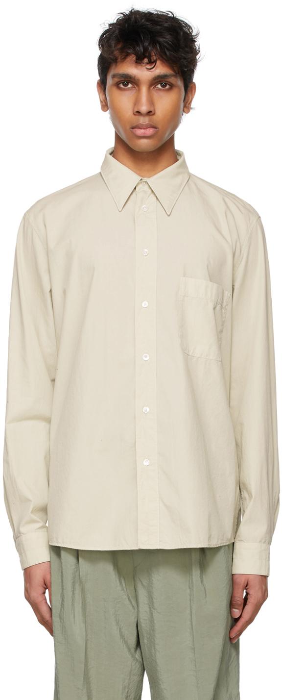 Lemaire 米色 Regular 衬衫