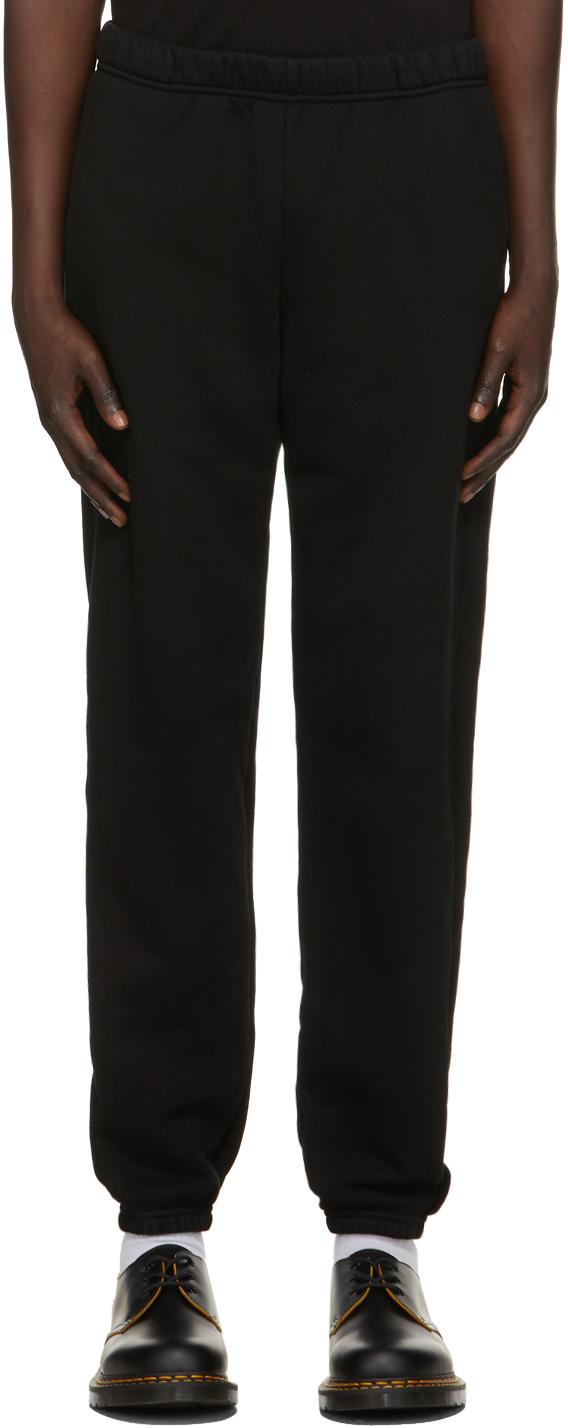 Les Tien 黑色 Classic 运动裤
