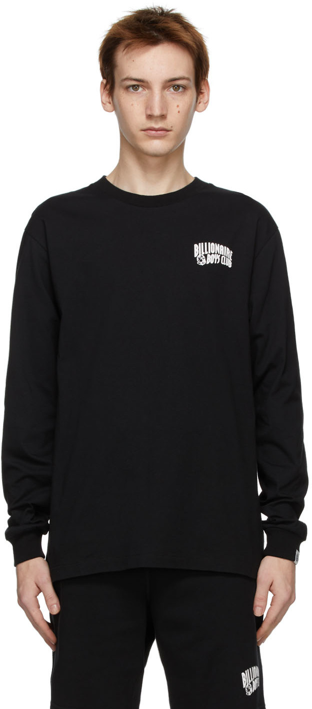 Billionaire Boys Club 黑色 Small Arch Logo 长袖 T 恤