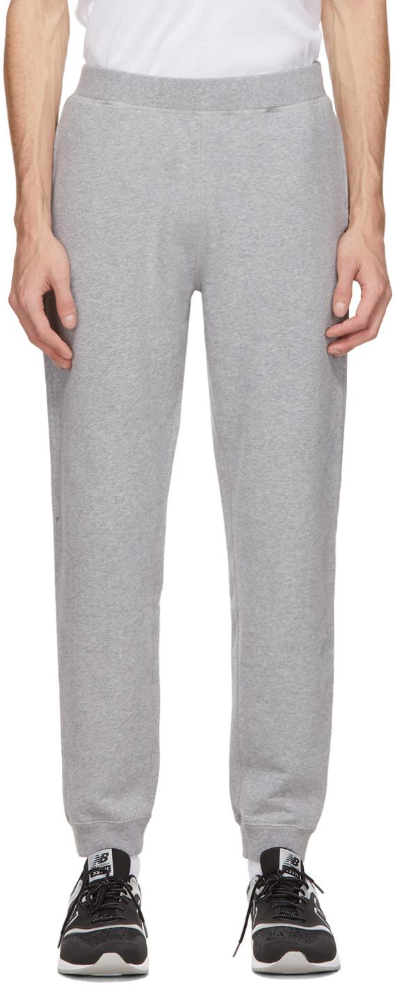 Sunspel 灰色毛圈布运动裤
