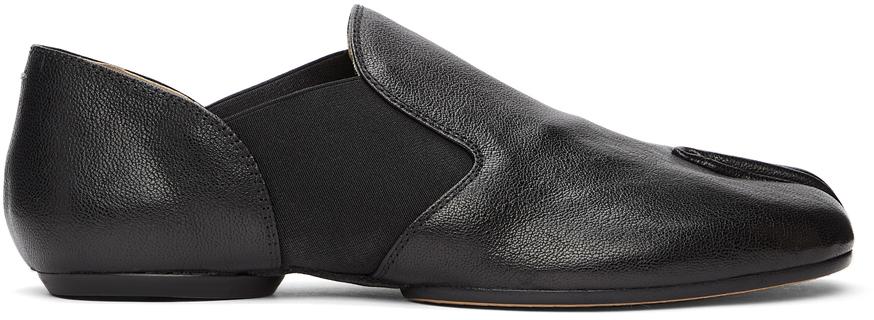 Maison Margiela 黑色 Tabi 乐福鞋