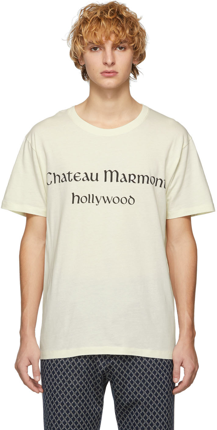 """Gucci 米白色""""Chateau Marmont"""" T 恤"""