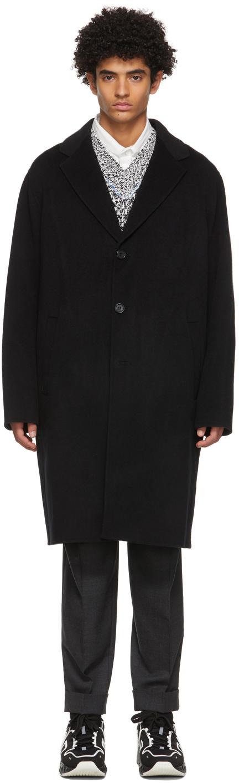 Acne Studios 黑色羊毛双面大衣