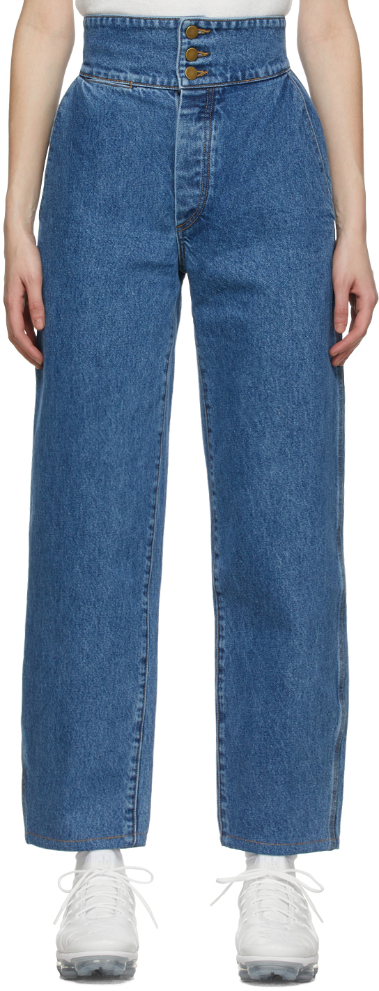 Gil Rodriguez 蓝色 Marseille 牛仔裤