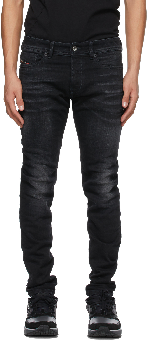 Diesel 黑色 Sleenker 0092B 牛仔裤