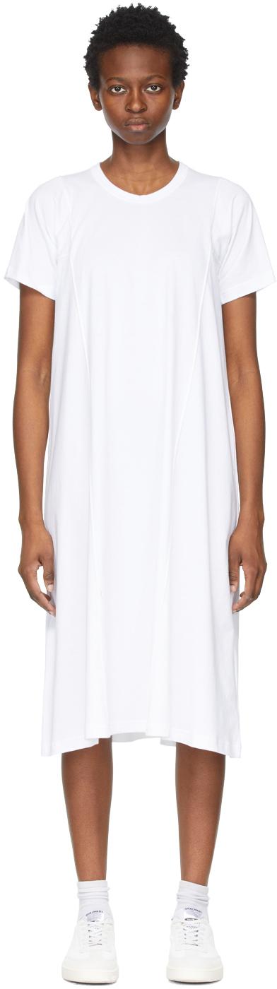 Comme des Garçons Comme des Garçons 白色短袖连衣裙