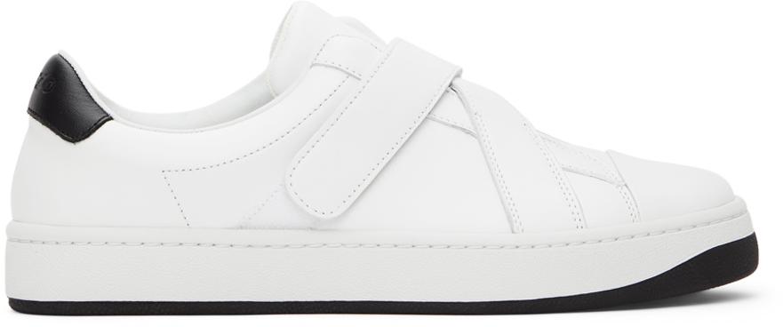 Kenzo 白色 Kourt Scratch 运动鞋