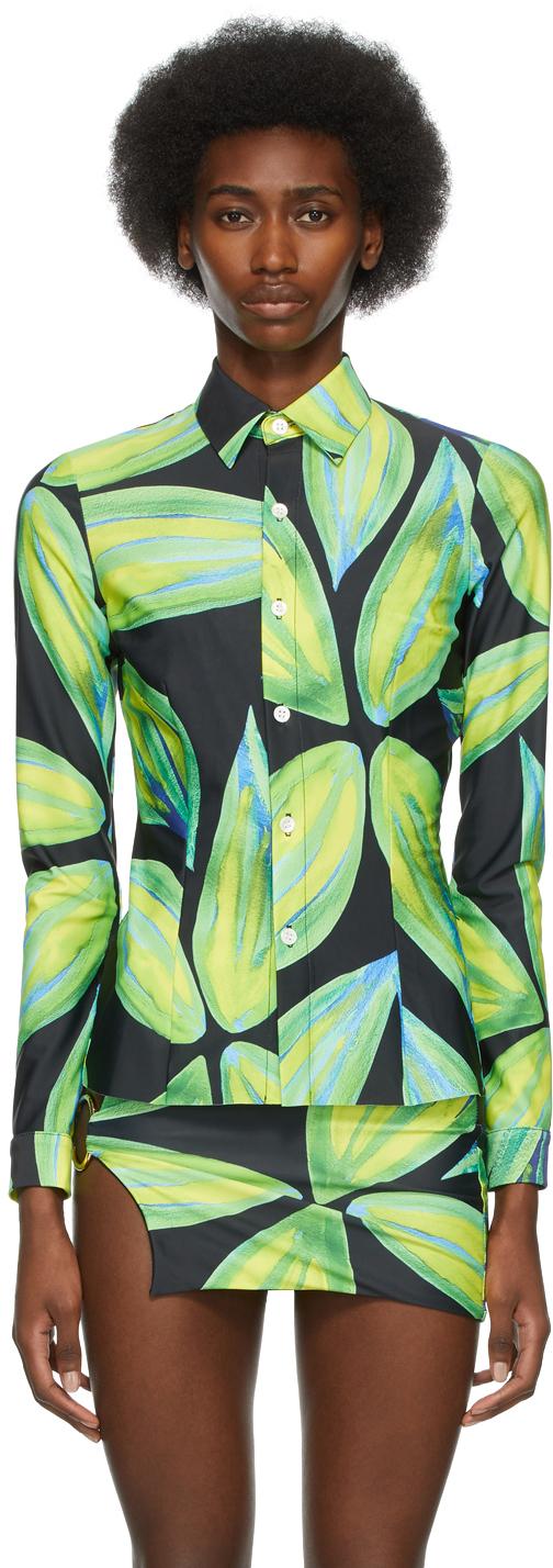 Louisa Ballou SSENSE 独家发售多色 Leaf 衬衫