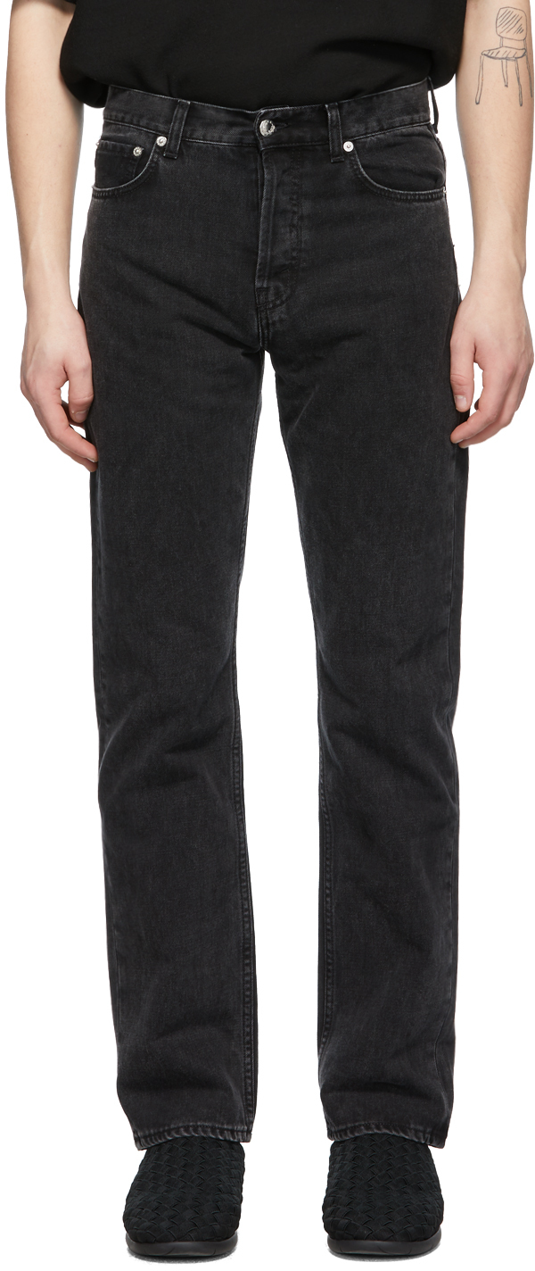 Séfr 黑色直筒牛仔裤