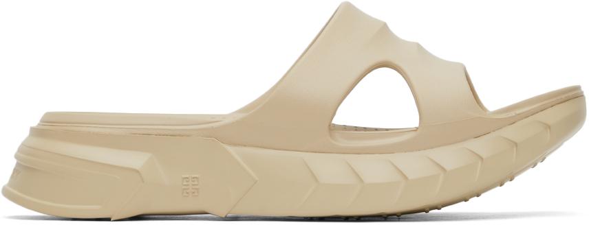 Givenchy 驼色 Marshmallow 拖鞋