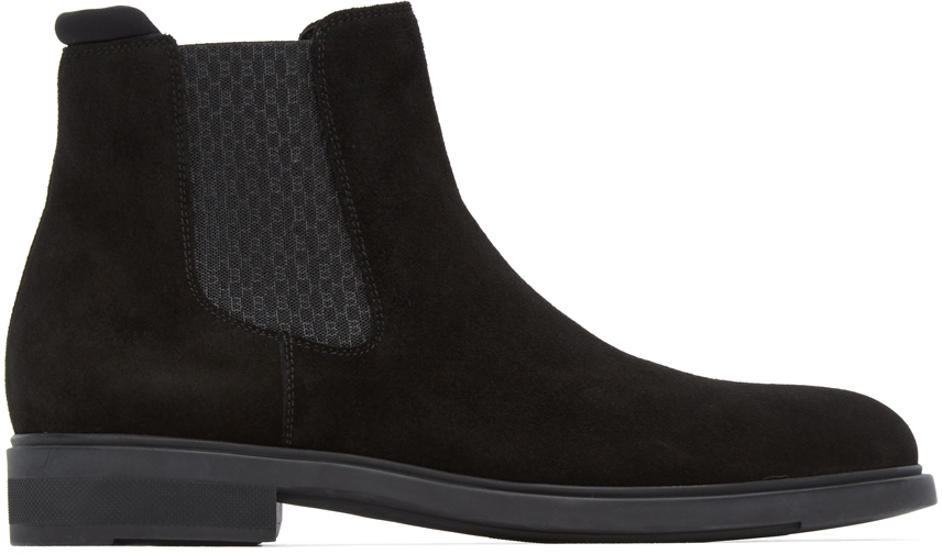 BOSS 黑色 Firstclass 切尔西靴