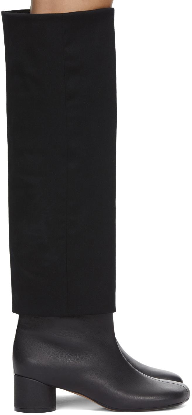 MM6 Maison Margiela 黑色 Suiting Top 中筒靴
