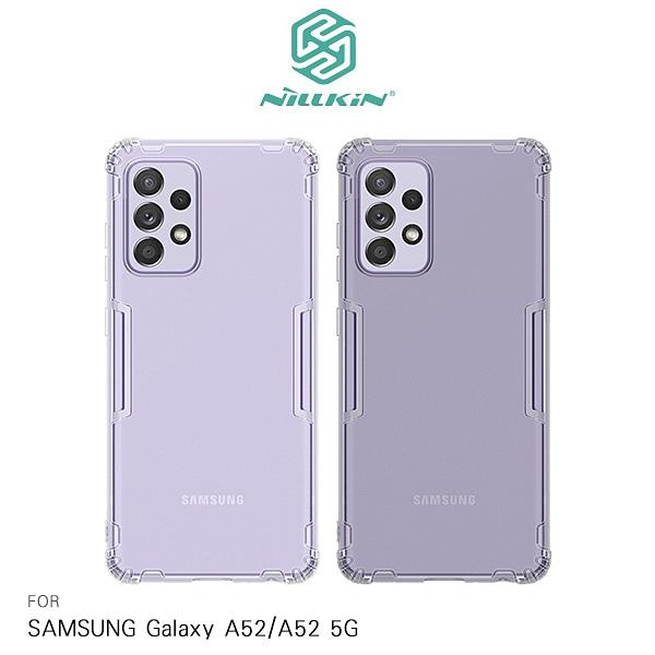 NILLKIN Samsung Galaxy A52/A52 5G 本色TPU軟套 軟殼 清水套 保護套 手機套 透明殼 吊繩孔