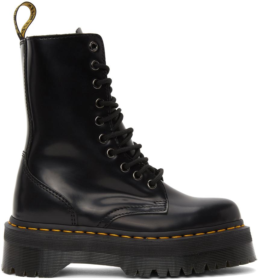 Dr. Martens 黑色 Jadon 中筒靴