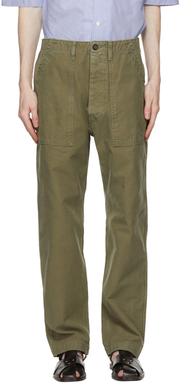 PRESIDENT's 军绿色 Fatigue 长裤