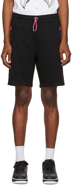 BAPE 黑色 Interlock 短裤