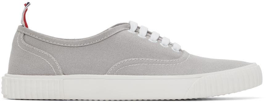 Thom Browne 灰色 Heritage 硫化运动鞋