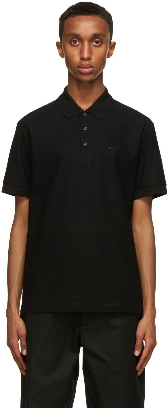 Burberry 黑色 Eddie Polo 衫