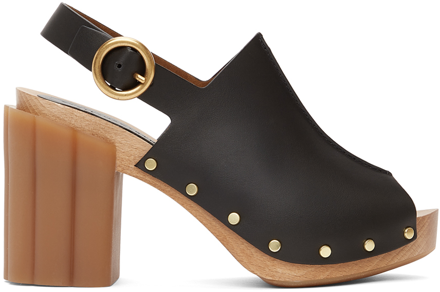 Stella McCartney 黑色 Daisy 凉鞋