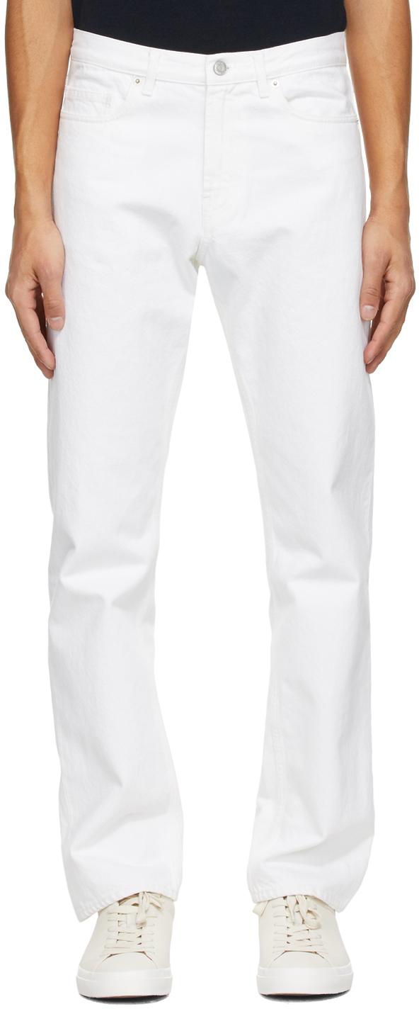 Norse Projects 白色 Regular 牛仔裤