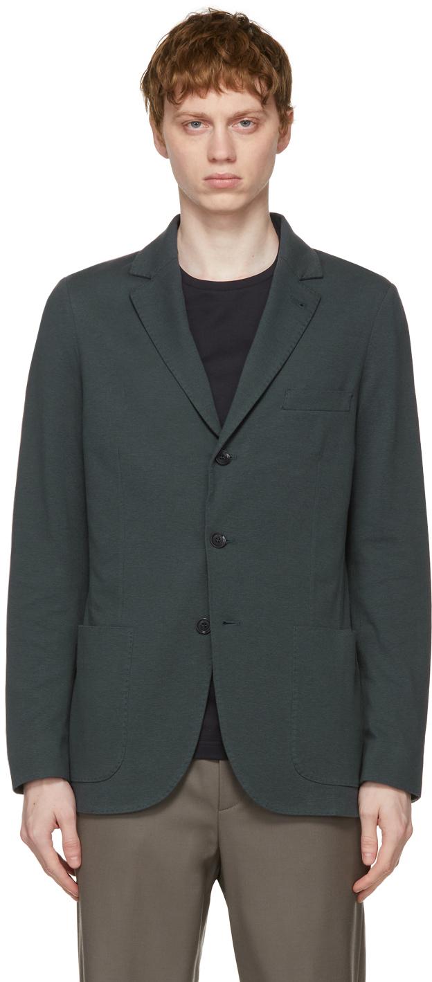 Loro Piana 海军蓝 Sweater 西装外套