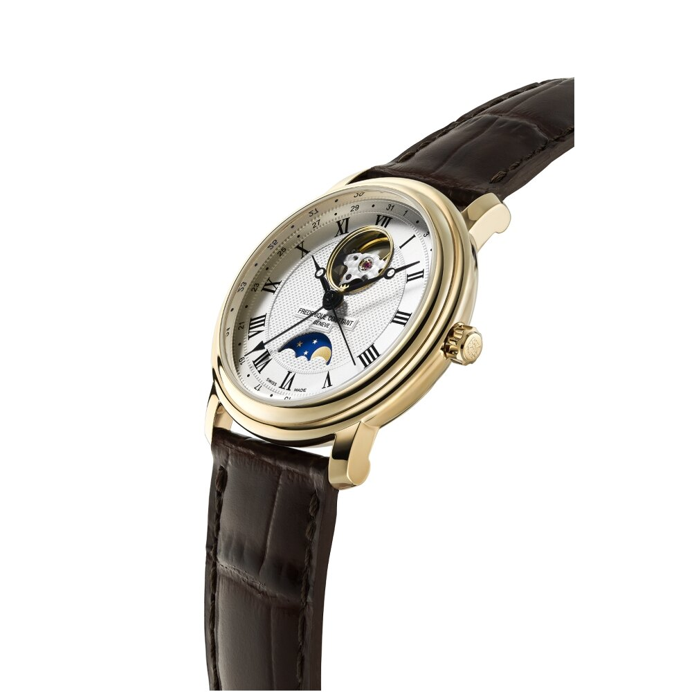 CONSTANT康斯登 月相開芯鏤空機械腕錶40mm(FC-335MC4P5)