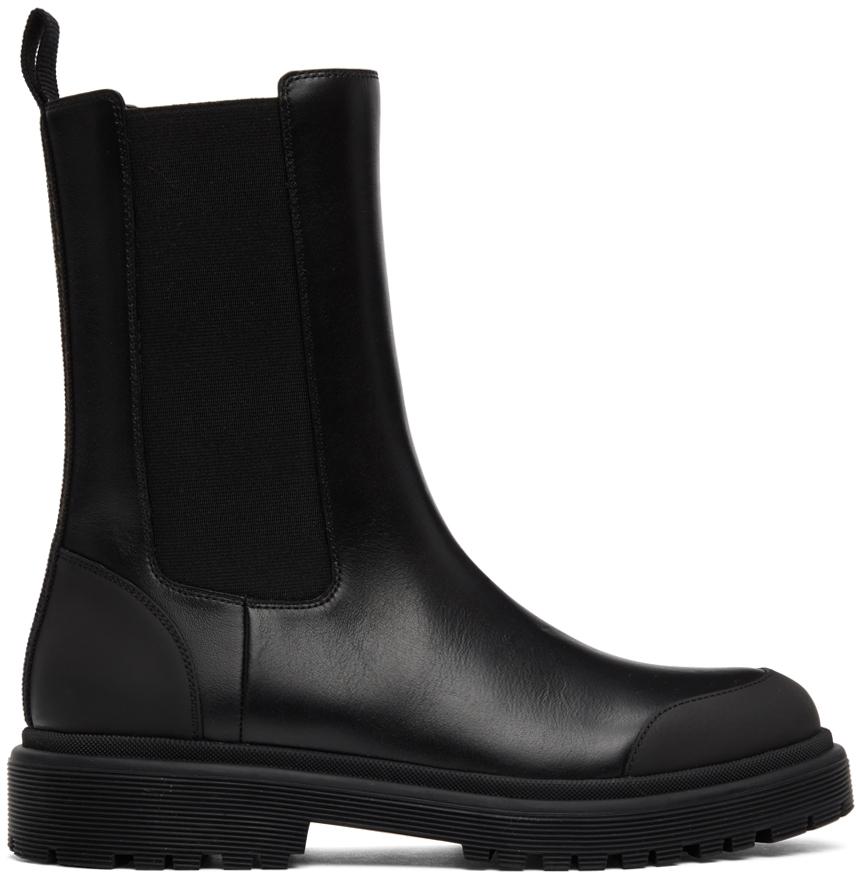 Moncler 黑色 Patty 切尔西靴