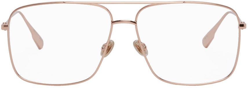 Dior Homme 玫瑰金 DiorStellaire03 飞行员眼镜