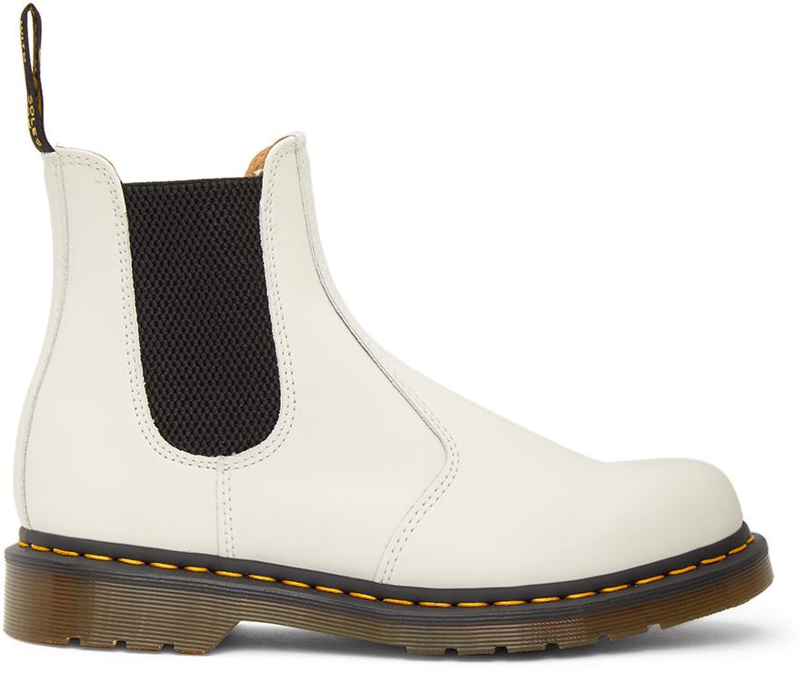 Dr. Martens 白色 2976 切尔西靴