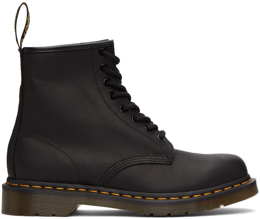 Dr. Martens 黑色 1460 踝靴