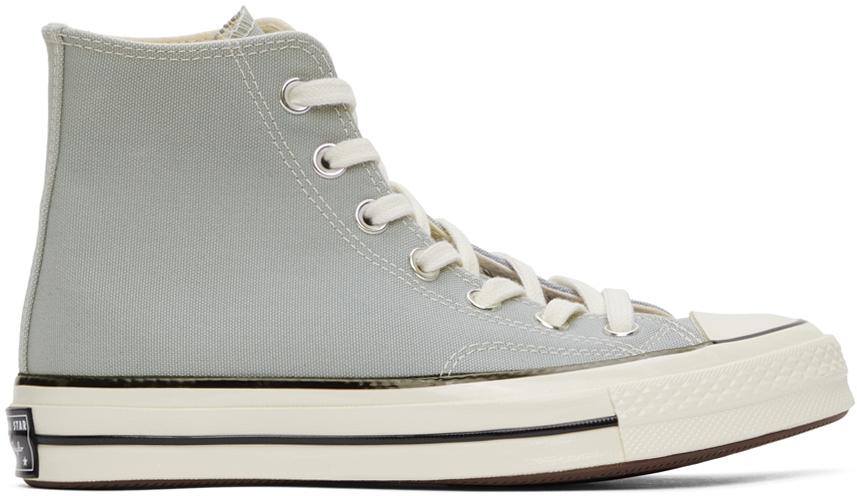 Converse 灰色 Chuck 70 高帮运动鞋