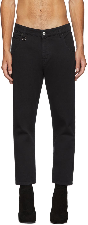 Random Identities 黑色 I Bless The 60's 牛仔裤