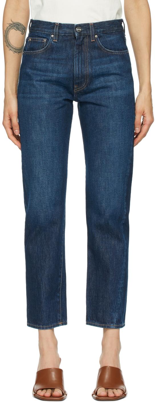 Totême 蓝色 Original 牛仔裤