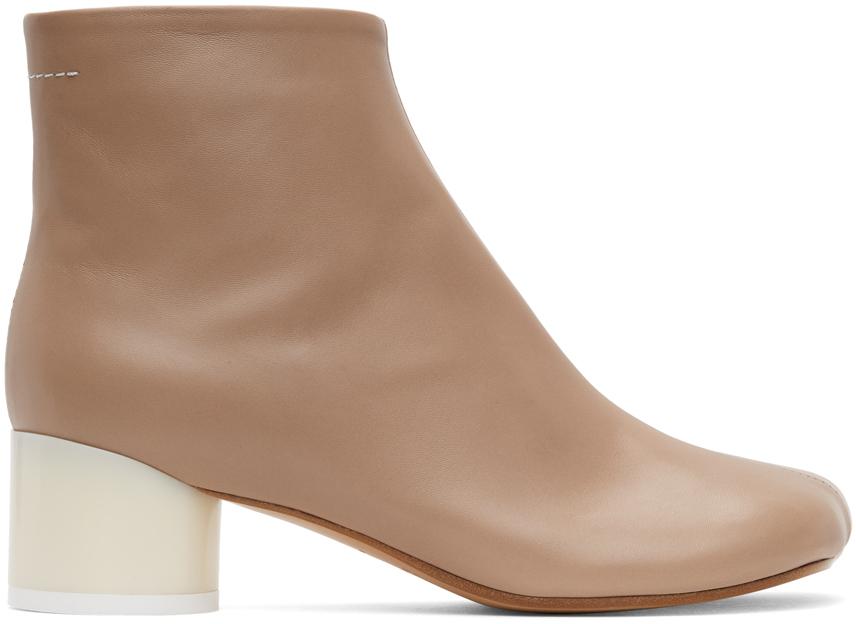 MM6 Maison Margiela 粉色 Classic 踝靴