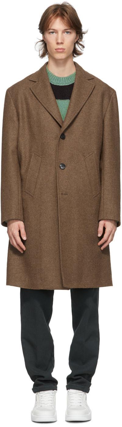 DOPPIAA 棕色 Aantisstene 大衣