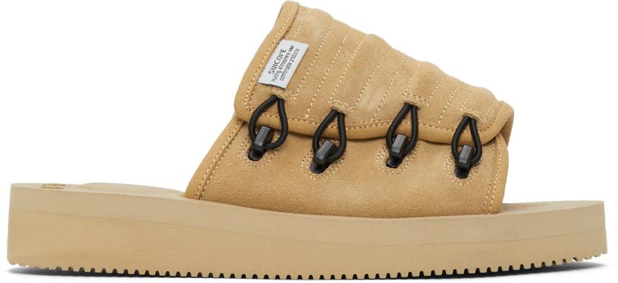 Suicoke 黄褐色 MURA-VS 拖鞋