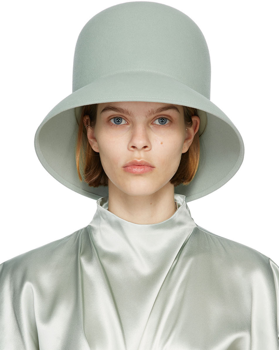 Nina Ricci 蓝色 High 沙滩帽