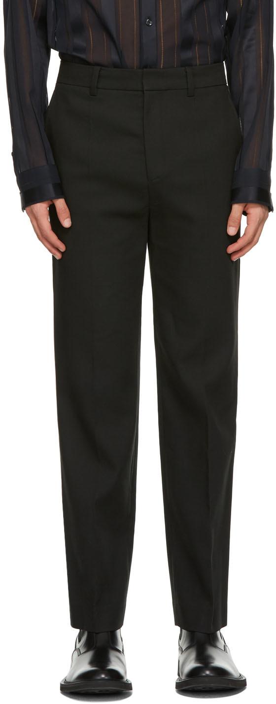 System 黑色 Tailored 长裤
